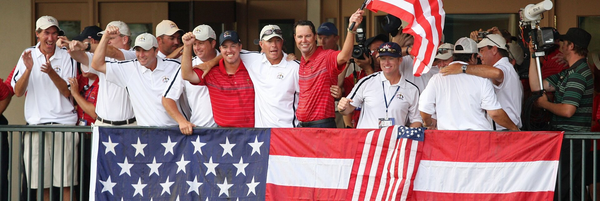 The winning Ryder Cup team (Getty Images)