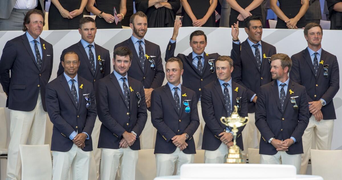 Ryder Cup Teams History