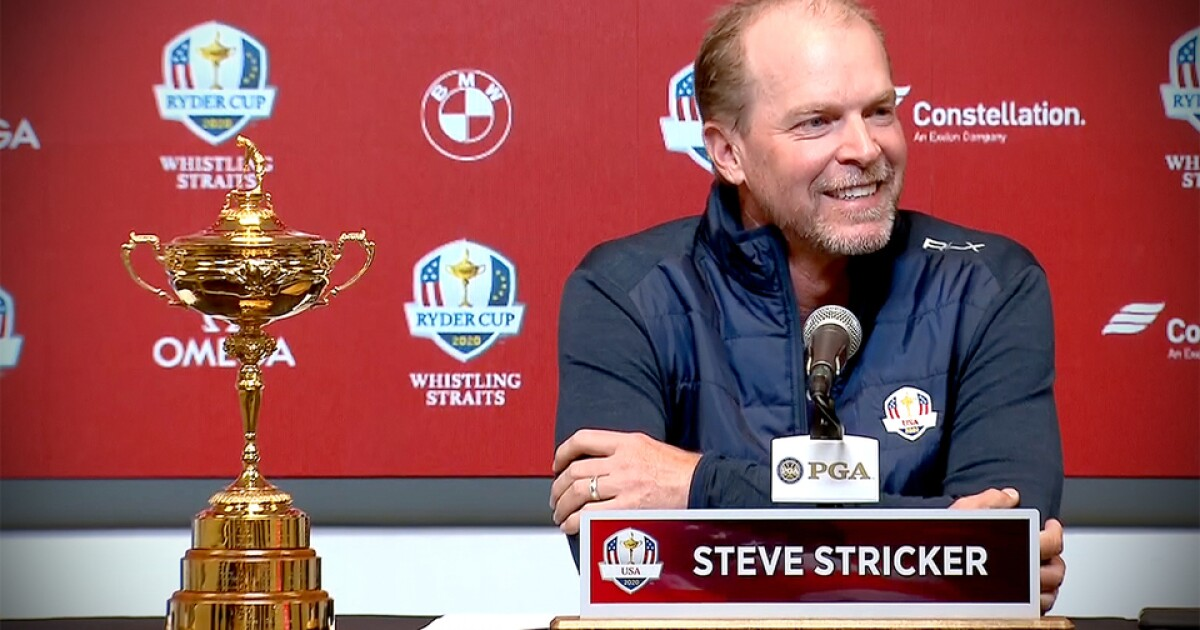 2020 Ryder Cup Teams.2020 U S Captain Steve Stricker S Full Announcement Press