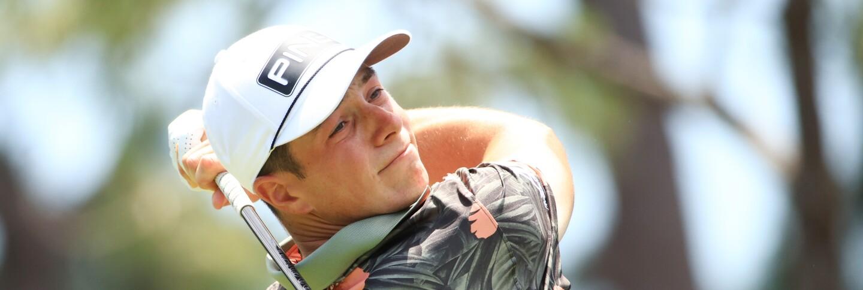 Viktor Hovland at the Valspar Championship on the PGA TOUR