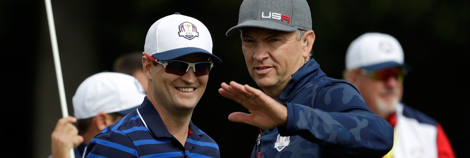 Zach Johnson and Davis Love III are named vice captains for 2020 Ryder Cup
